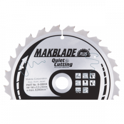 Makita B-08604 Makblade Plus pyörösahanterä 190x20x2,2 Z24 puulle
