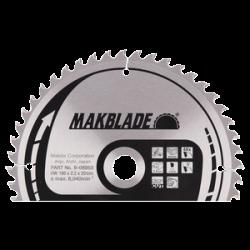 Makita B-08953 pyörösahanterä 190x20x2,2 Z48 puulle