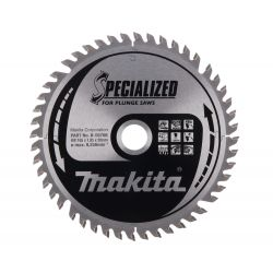 Makita B-56708 pyörösahanterä 165x20x1,85 Z48 puulle