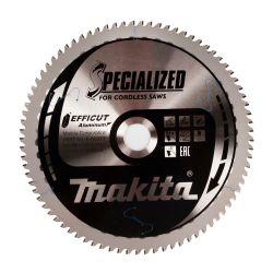 Makita E-06317 Efficut pyörösahanterä 260x30x1,85 Z81 alumiinille