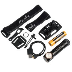 Fenix HM61R Black Edition otsavalaisin ladattava 1200 lumen