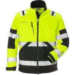 Fristads 4083 WYH High vis softshell takki LK2 keltainen/musta XS
