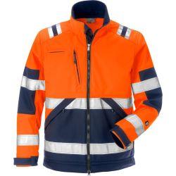 Fristads 4083 WYH High vis softshell takki LK2 oranssi/sininen XS