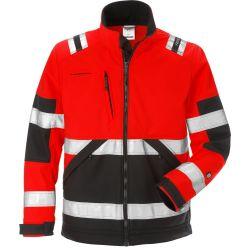 Fristads 4083 WYH High vis softshell takki LK2 punainen/musta XS