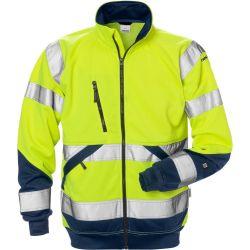 Fristads 7426 SHV High Vis kevyt takki LK3 keltainen/sininen M