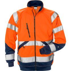 Fristads 7426 SHV High Vis kevyt takki LK3 oranssi/sininen M