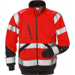 Fristads 7426 SHV High Vis kevyt takki LK3 punainen/musta M