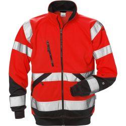 Fristads 7426 SHV High Vis kevyt takki LK2 punainen/musta XS