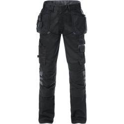 Fristads 2595 STFP rakentajan housut musta/harmaa C62