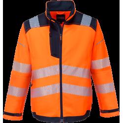 Portwest T500 Hi-Vis takki LK3 oranssi/sininen S