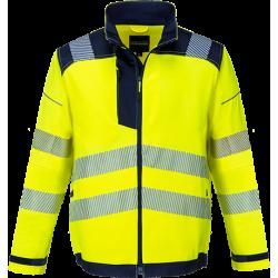 Portwest T500 Hi-Vis takki LK3 keltainen/sininen S