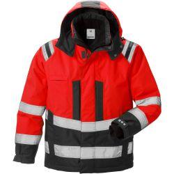Fristads 4035 GTT Airtech High vis talvitakki LK3 punainen/musta M