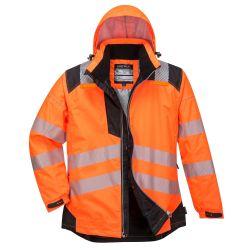 Portwest T400 Hi-Vis talvitakki LK3 oranssi/musta 2XL
