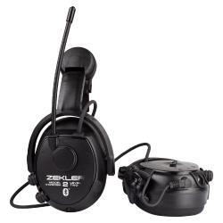 Zekler 412RDBH kuuleva kuulonsuojain radiolla Bluetooth kypäräkiinnitys